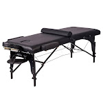 "BestMassage 77"" Long 30"" Wide 4"" Pad Professional Portable Massage Table w/Free Carry Case"