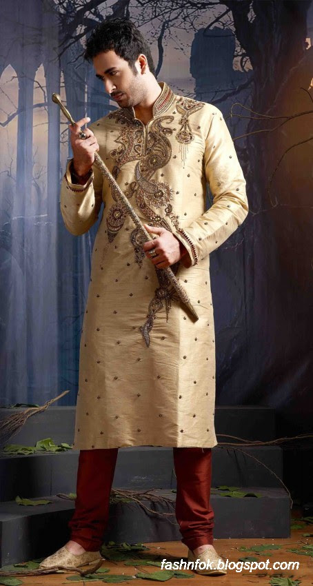 Kurta-Designs-Men-Male-New-Latest Silk-Kurta-Style-Design-10