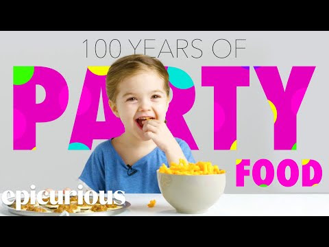 Kids Try 100 Years Of Party Snacks - Video