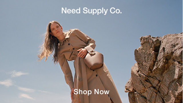Shop contemporary and independent label men's and women's fashion at Need Supply Co. Click Here!