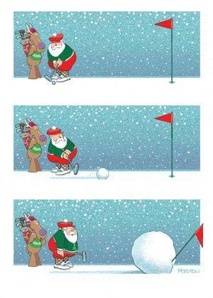"""Résultat de recherche d'images pour """"Photo père noël golfeur"""""""