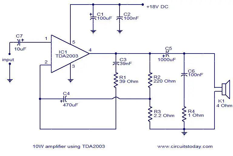10w-amplifier-using-tda2003