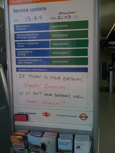 Shoreditch Station whiteboard by HackneyHear