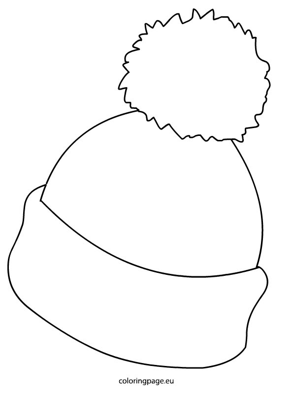 Winter Hat and Mittens Coloring Page Clothing - jeffersonclan | 804x595