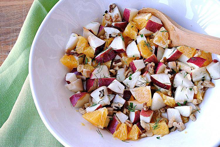 Apple, Orange and Fennel Salad