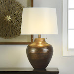 StyleCraft Home Coll. 1288434 Claudia Steel Table Lamp