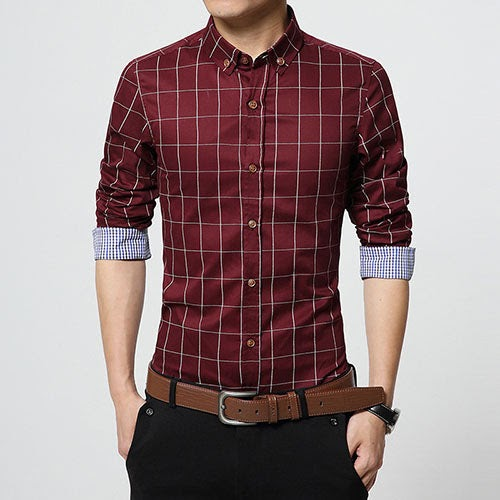 New Men Slim Fit Long Sleeve  #fit #bodypositive #FakeWorkoutFacts #WhyIAvoidTheGym #fitness #Clothes...