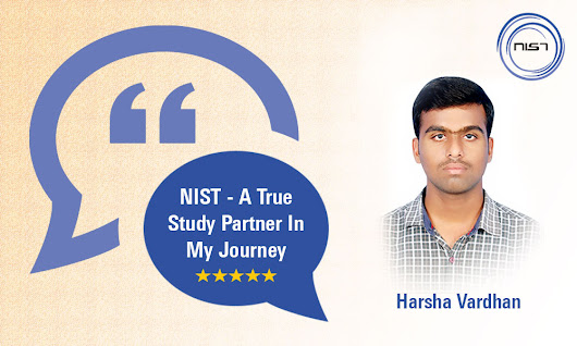 NIST – a true study partner in my journey