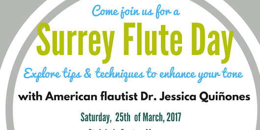 Surrey Flute Day: Explore tips and tricks to enhance your tone