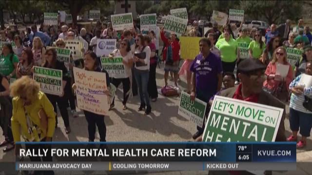 Rally for mental health care reform | KVUE.com