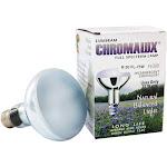 Lumiram Chromalux R30 75W Frosted Light Bulb Full Spectrum Lamp