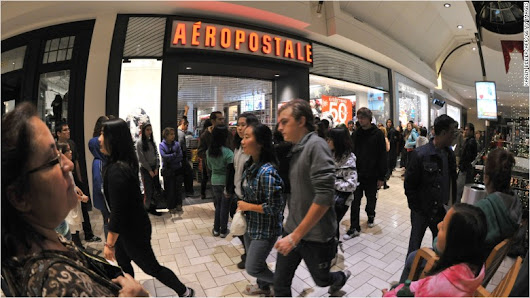 Aeropostale has filed for bankruptcy