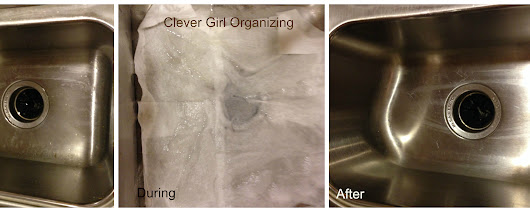Polishing your Medals (Metals): Cleaning a Stainless Steel Sink