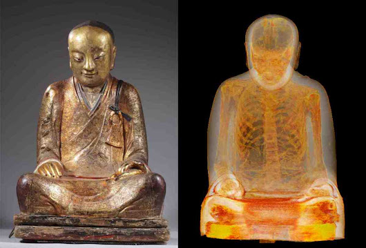 CT Scan Reveals that Statue of Buddha is Actually a Mummy