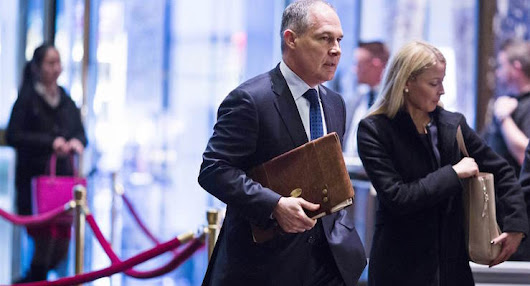 Trump to Nominate Oklahoma AG Scott Pruitt to Lead EPA | People's Pundit Daily