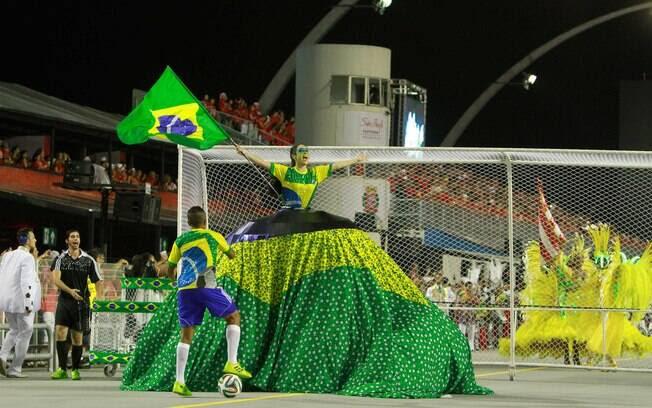 A Leandro de Itaquera abriu o carnaval paulistano. Foto: Divulgação/SPTuris