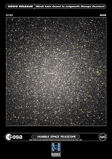 Agujero negro en Omega Centauri