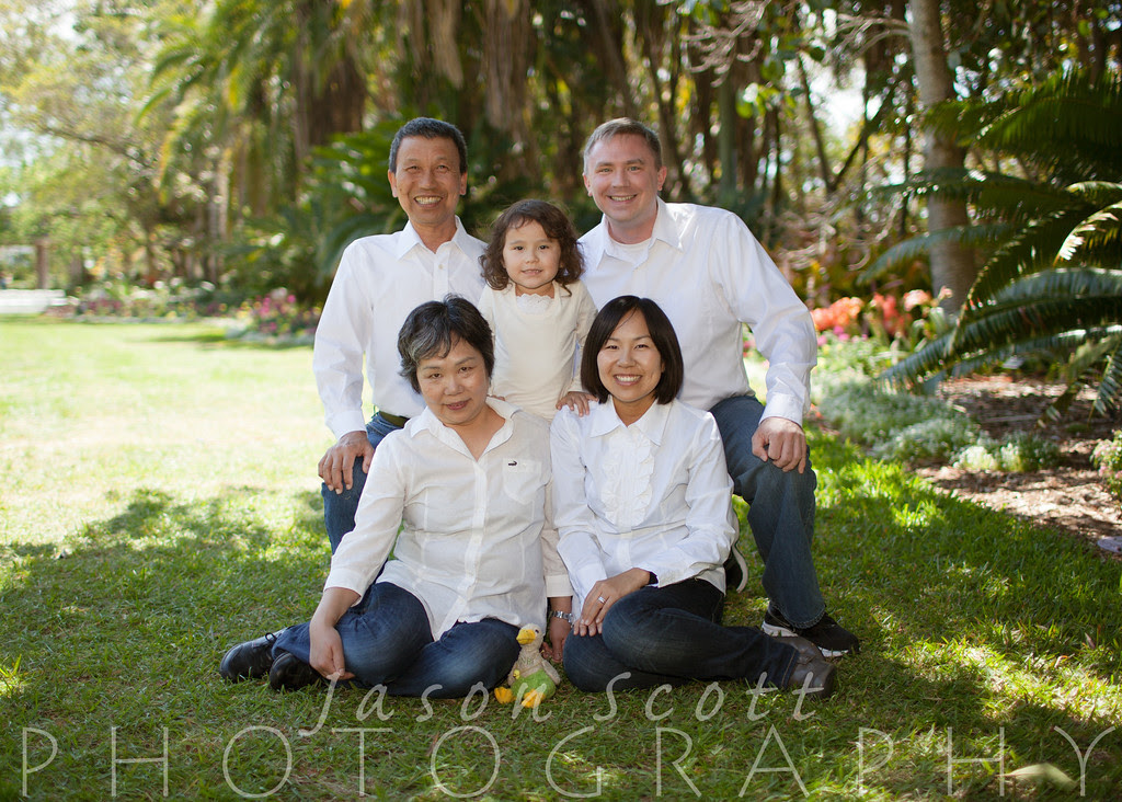 Roper Family at Selby Gardens, March 2013