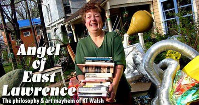 Lawrence artist KT Walsh.