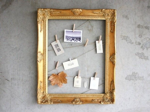 Diy Clothespin Frame Pictures Photos And Images For Facebook