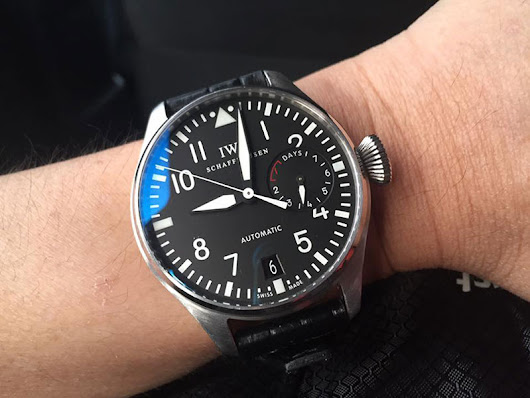 IWC Big Pilot IW5004-01 with 7 Day Power Reserve Indicator - The Watchology