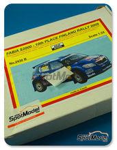Maqueta de coche 1/24 SpotModel - Reji Models - Skoda Fabia S2000  Nº 66