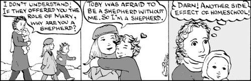 Home Spun comic strip #171