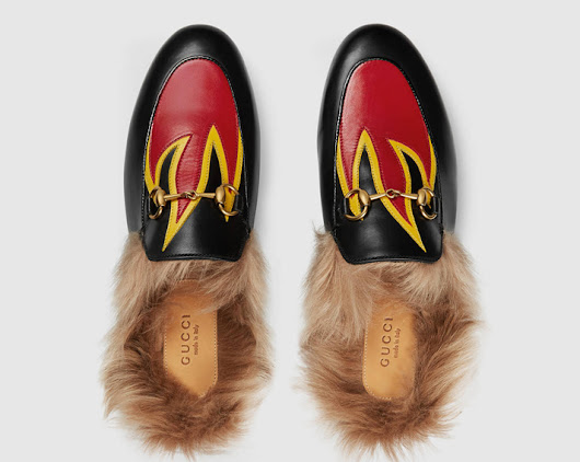 Mit Gucci Slipper durch den Winter!?