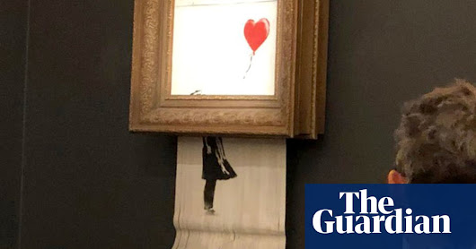 Banksy auction prank leaves art world in shreds | Art and design | The Guardian