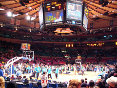 New York Knicks vs. New Orleans Hornets