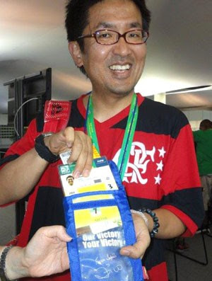 Takeshi Kubo, jornalista japonês (Foto: Zé Gonzalez)