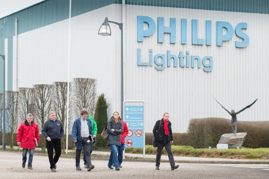 Philips Lighting joins Amsterdam's top-tier AEX index