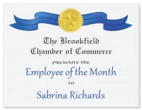 Creative Employee of the Month Recognition Suggestions