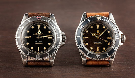 Vintage Submariners: Reference 5512 VS. Reference 5513