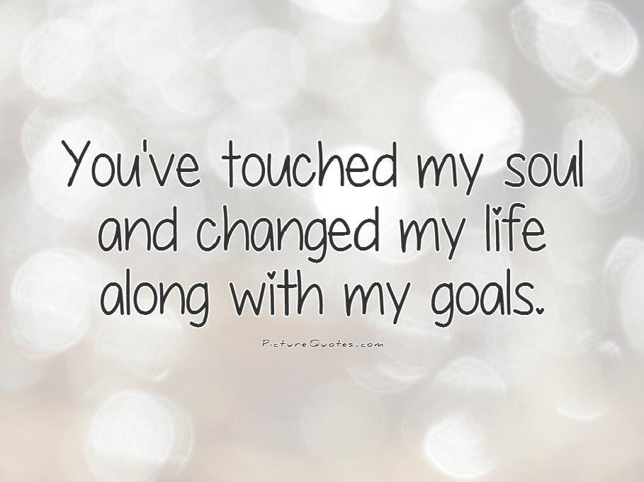 Latest HD You Changed My Life Quotes
