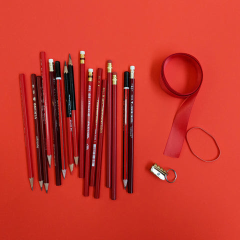 How to Make a Valentine's Day Pencil Bouquet