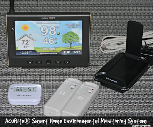 AcuRite® Smart Home Environmental Monitoring System Review | A Happy Hippy Mom