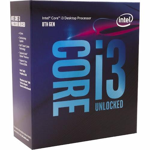 Intel Core i3-8350K 4 GHz Quad-Core Processor - 8 MB - LGA1151 Socket - Retail