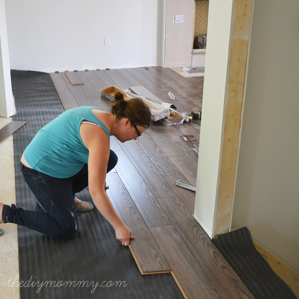 Laminate Flooring Over Concrete Basement Modern Design - Best way to install laminate flooring on concrete