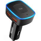 Anker Roav Viva Alexa Enabled 2-Port USB Car Charger, Black