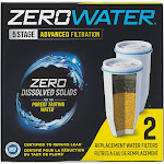 Zerowater Replacement Filter ZR-017 - 2 Pack