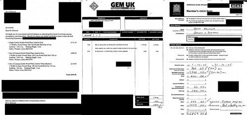 Alex Salmond Expenses examples