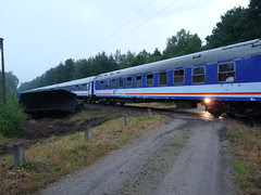 Train accident in Poland