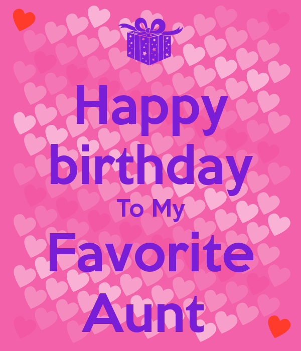 41 Warm Birthday Wishes For Aunt
