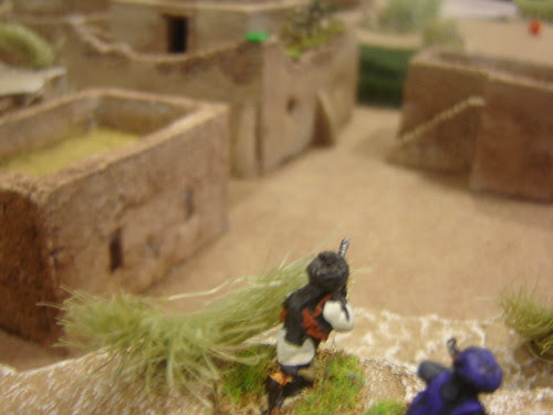 Machine gunners firing