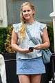 amy schumer is feeling pretty in blue on new movie set 02