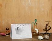 2013 Calendar, Calendar 2013, Desktop Calendar, Fun calendar, Desk Calendar, Calendar, Colorful, 6x8 (15x21cm) - PhotographyDream