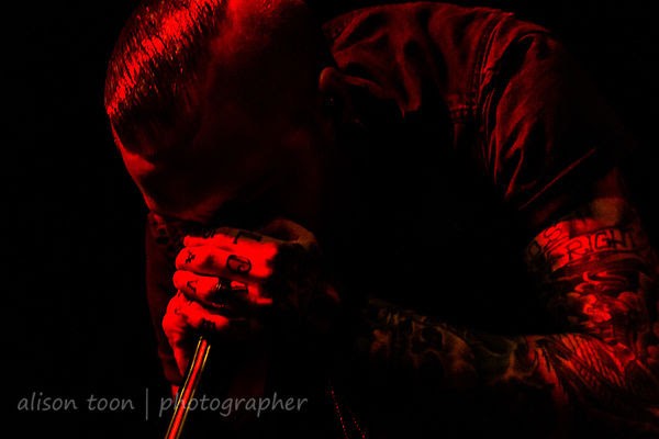Matty Mullins, vocals, Memphis May Fire