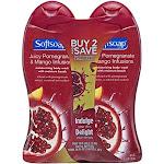 Softsoap Moisturizing Body Wash Pack, Juicy Pomegranate & Mango Infusions
