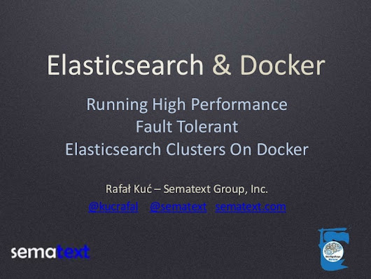 Running High Performance and Fault Tolerant Elasticsearch Clusters on…